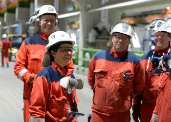 Hydro startet i dag den første produksjonen ved teknologipiloten på Karmøy