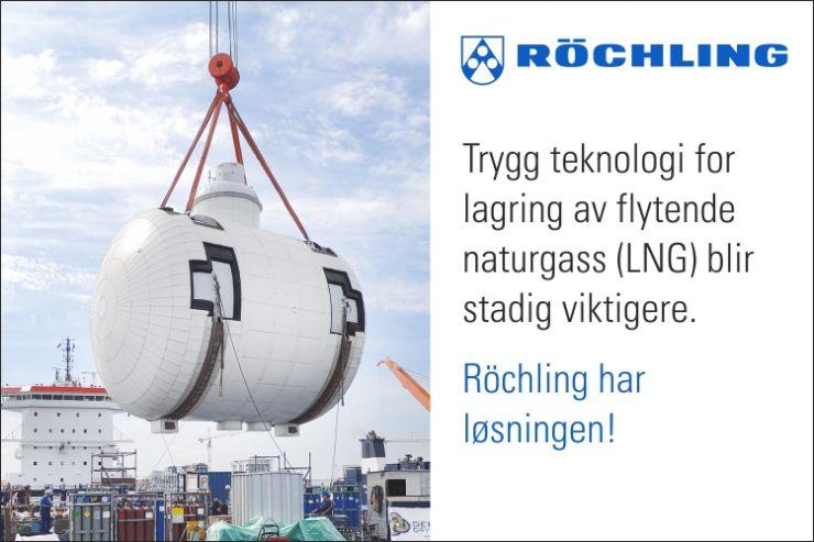 LNG fremdriftsystemer: Pålitelig termisk isolering for drivstofftanker