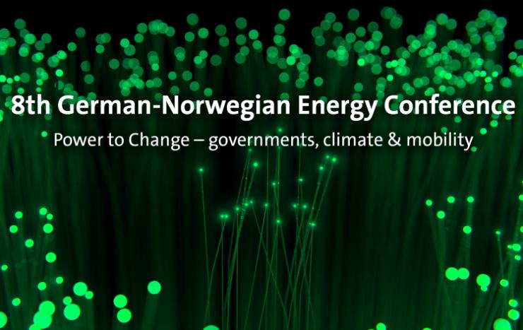 Norsk-Tysk Energikonferanse i Oslo, 26 april