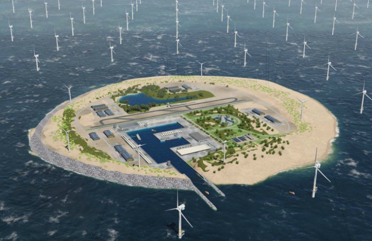 Verdens største vindmøllepark kan sende strøm til seks land, Norge inkludert
