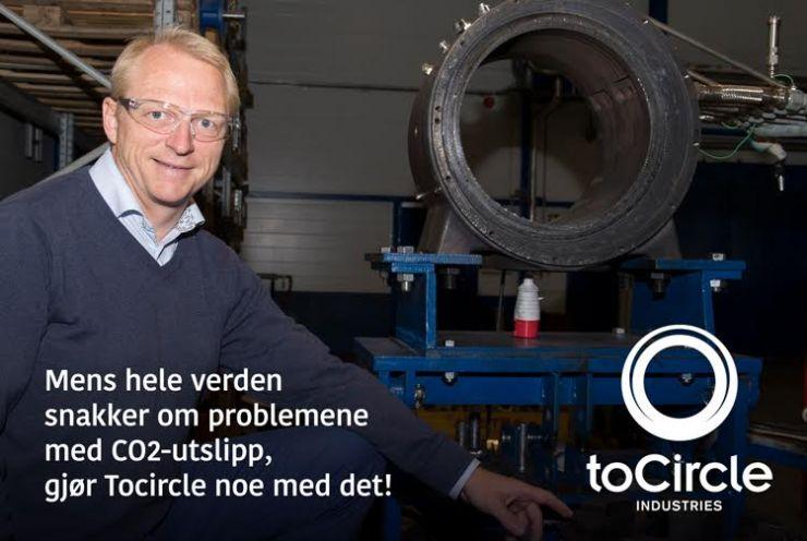 Mange snakker om CO2 - Tocircle gjør noe med det