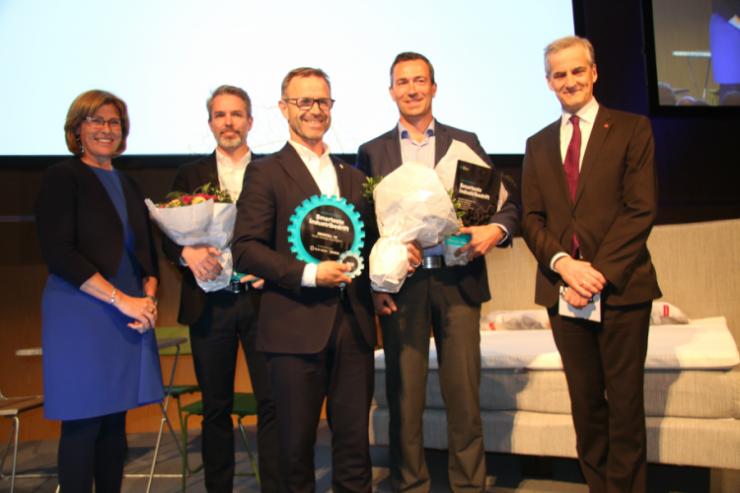 jakter på Norges smarteste industribedrift
