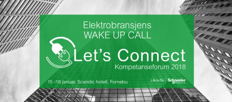 Schneider Electric  Elektrobransjens Wake-up Call