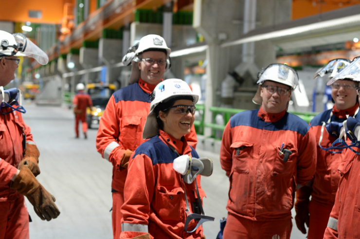 Ny og energismart teknologi hos Hydro