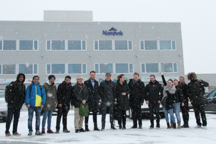 Studenter med ideer for framtiden|Toyota Nordvik